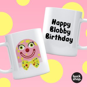 Mr Blobby Personalised mug