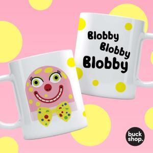 Mr Blobby Personalised mug
