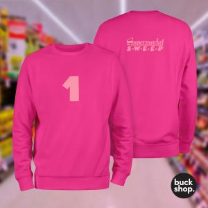 Supermarket Sweep inspired Team Sweaters available from BuckShop.co.uk