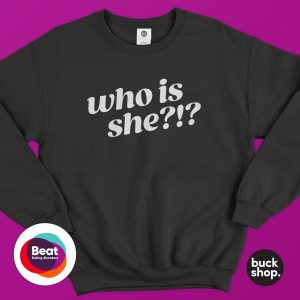 Who Is She?!? Sweater - Inspired by Nikki Grahame from Big Brother