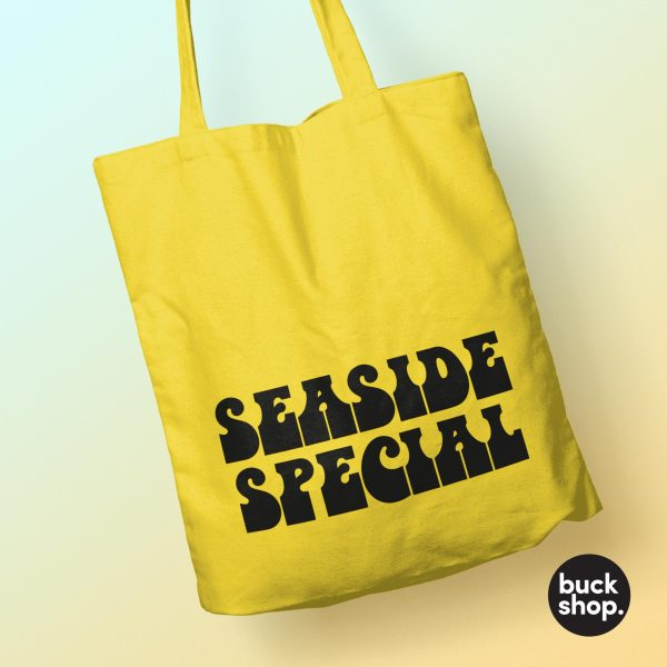 Seaside Special - Yellow Tote Bag