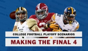 How your team can make the College Football Playoff