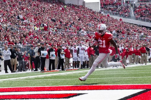 Football: Urban Meyer names Parris Campbell Ohio State's 'best playmaker'