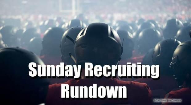 Sunday Recruiting Rundown: Huge Week of Visits Wraps Up