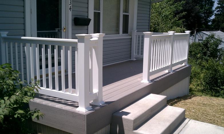Porch Railing Vinyl