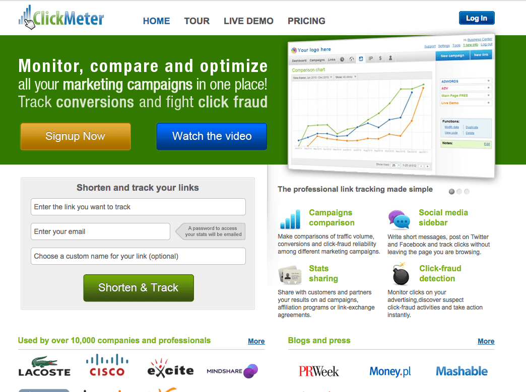 ClickMeter BucleMarketingOnline