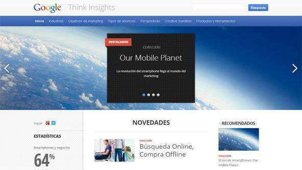 Think Insights google para profesionales de marketing online