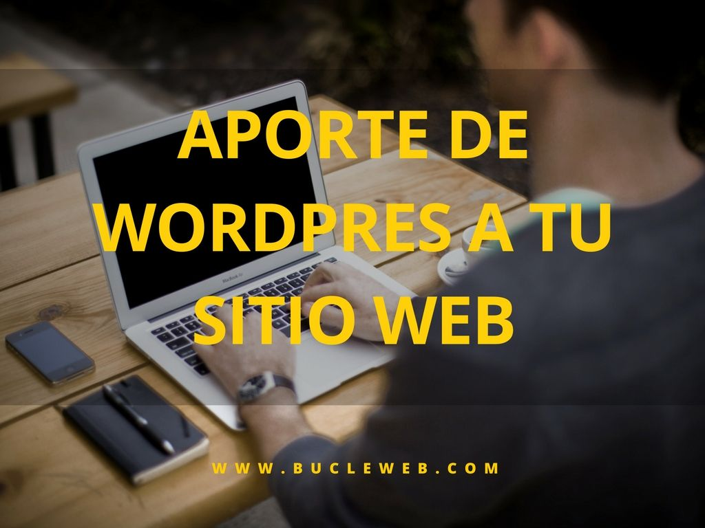 aporte de wordpress