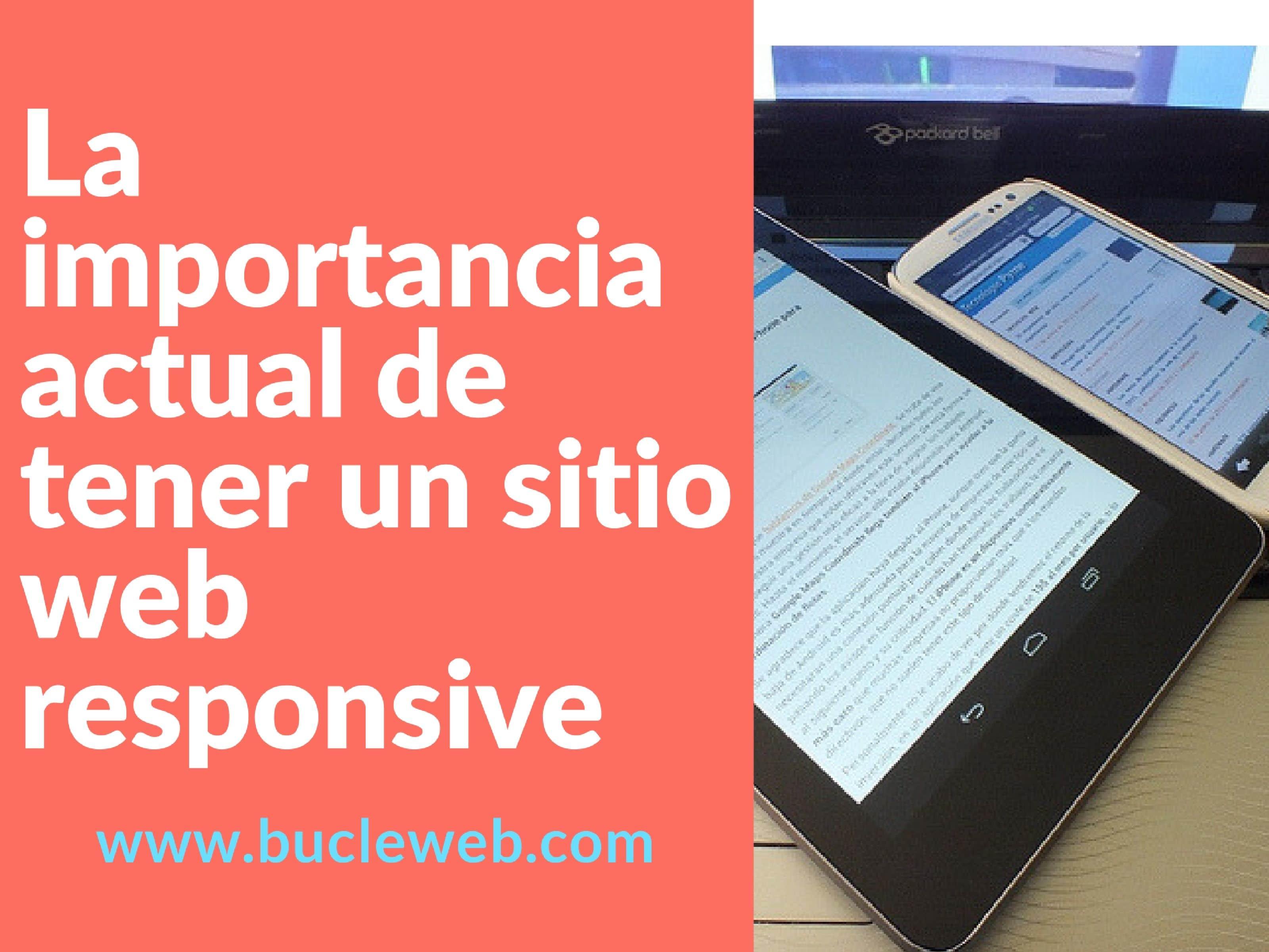 sitio web responsive