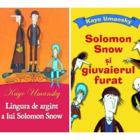 Seria cărților de aventuri cu Solomon Snow, de Kaye Umansky