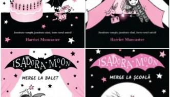 Seria Isadora Moon, de Harriet Muncaster, o lectură ușoară și amuzantă