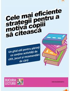 Cele mai eficiente strategii pentru a motiva copiii să citească