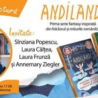 Lansare și lectură Andilandi, de Sînziana Popescu