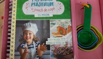 Astăzi bucătărim – Prepararea prăjiturilor e o joacă de copil