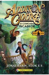 cărți distractive pentru 9-12 ani-Addison Cooke si comoara incasilor