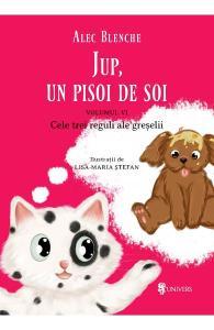 carti pentru copii cu griji - Jup, un pisoi de soi