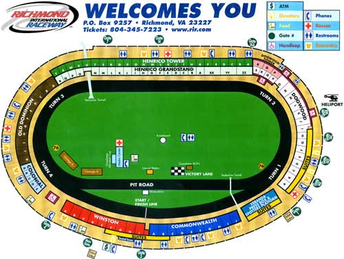 Related Keywords & Suggestions for Richmond Speedway