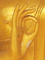 Thai Buddha Hand Gestures Buddha Iconography, Vitarka Mudra, Teaching, Giving Instruction