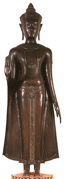 Thailand Buddha Images Khmer Standing Buddha Lopburi style