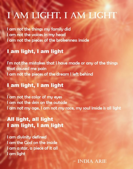 I am Light - India Arie