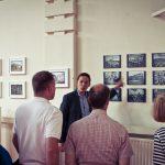 Lay Buddhist teacher explains the historical photos of the Beaufoy