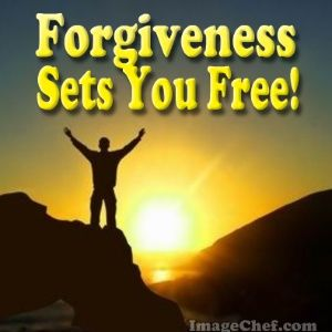 forgiveness sets you free