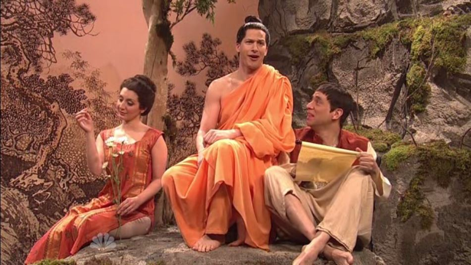 """The Rude Buddha"" sketch on Saturday Night Live"