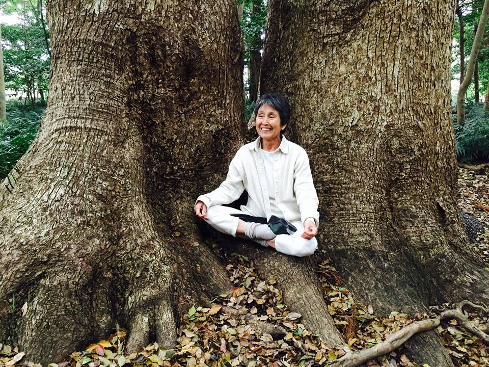 Renowned artist, anti-nuclear activist, and deep influencer of Buddhist Peace Fellowship, Mayumi Oda