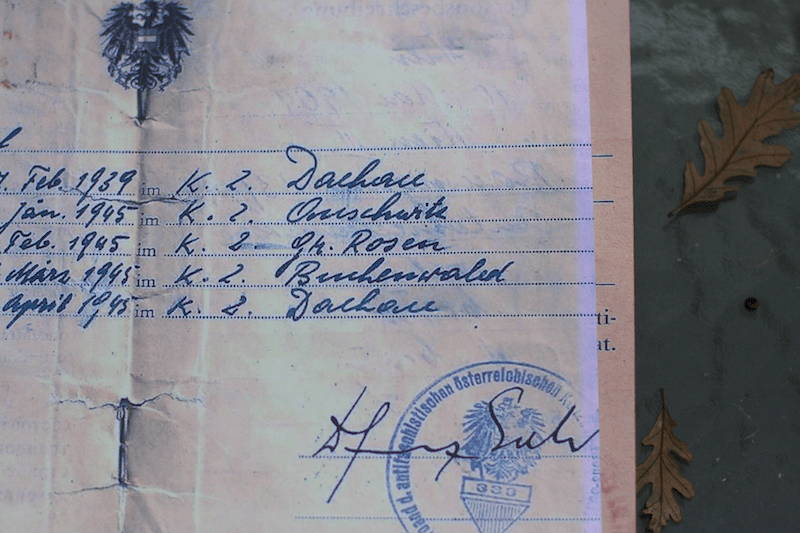 Opa's papers