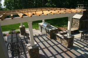 Custom Grilling Stations and Outdoor Kitchens in Howard County, Baltimore, Carroll, Frederick & Montgomery counties.