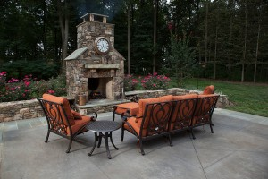 Outdoor Fireplace design & construction in Howard County, Baltimore, Carroll, Frederick & Montgomery counties.
