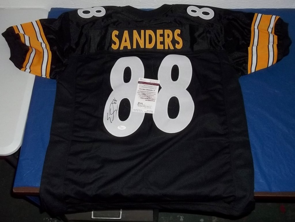 230d88751e6 Emmanuel Sanders Signed Pittsburgh Steelers Jersey » Budd s ...