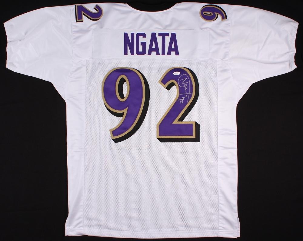 Haloti Ngata Signed Baltimore Ravens Jersey » Budd's Collectibles