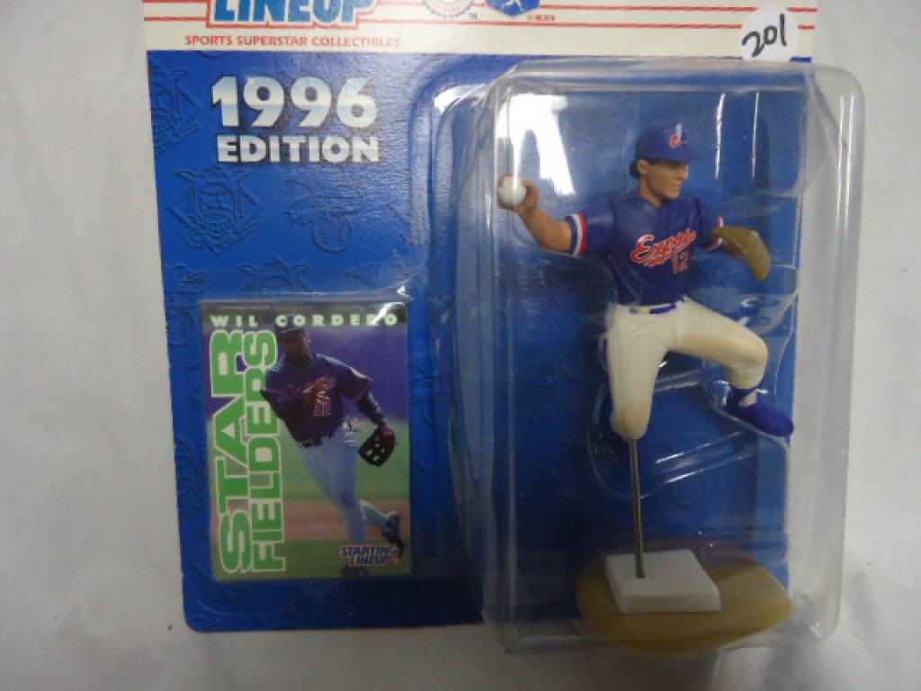 Starting Lineup 1996 MLB Baseball Wil Cordero Montreal Expos