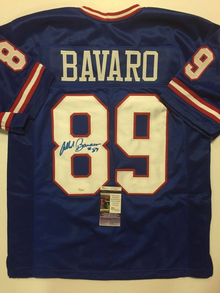 Mark Bavaro Signed New York Giants Jersey » Budd s Collectibles 428de9a0c