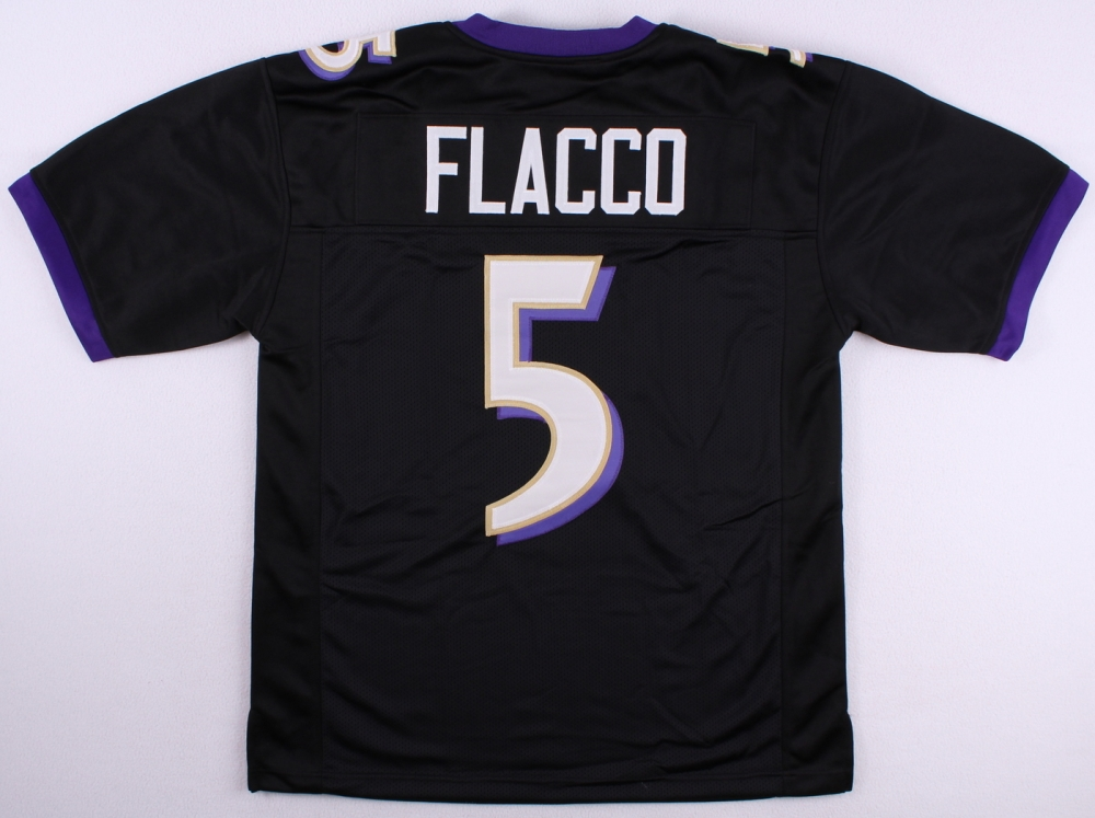 new product 41715 69650 Joe Flacco Baltimore Ravens Jersey » Budd's Collectibles