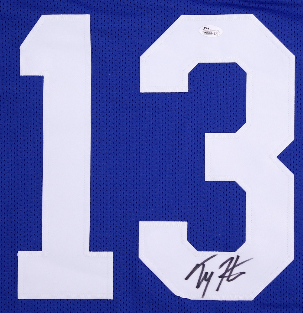 the latest 483e1 78dfe T.Y. Hilton Signed Indianapolis Colts Jersey