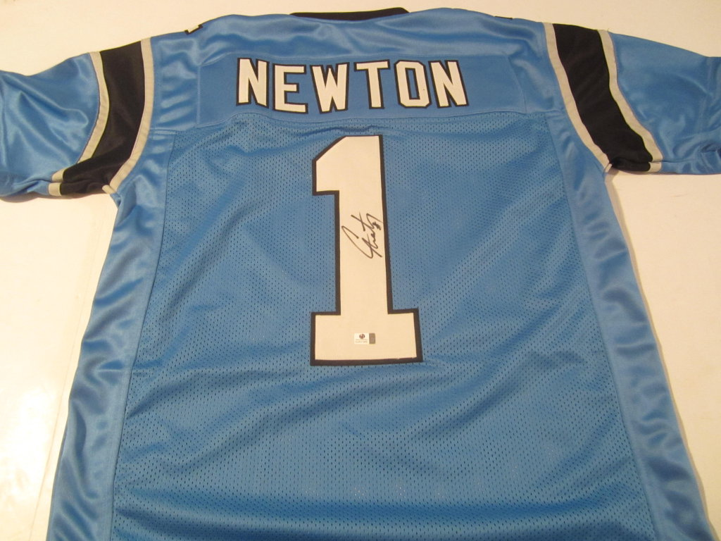 17705d695 Cam Newton Signed Carolina Panthers Jersey » Budd s Collectibles
