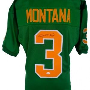 Joe Montana Signed Notre Dame Fighting Irish Jersey