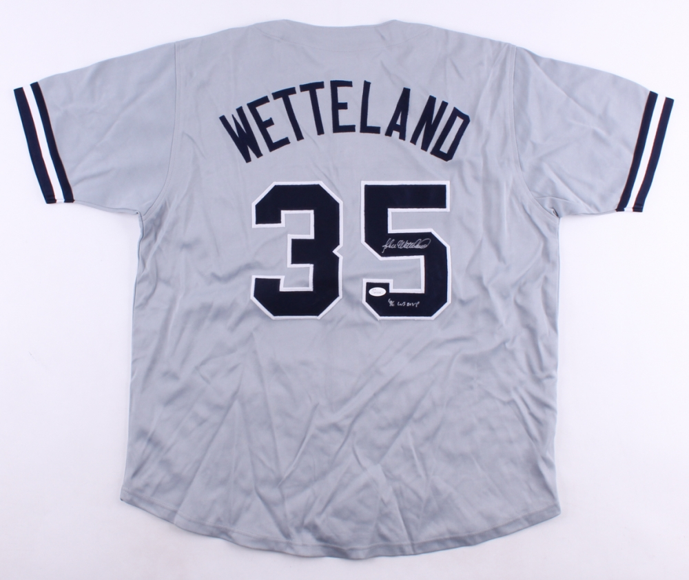 d901a0abfa0 John Wetteland Signed New york Yankees Jersey » Budd s Collectibles