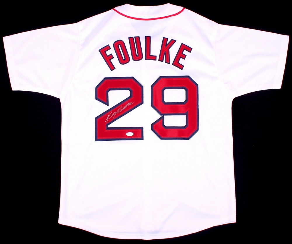 pretty nice 5bb09 6caf4 Keith Foulke Signed Boston Red Sox Jersey » Budd's Collectibles