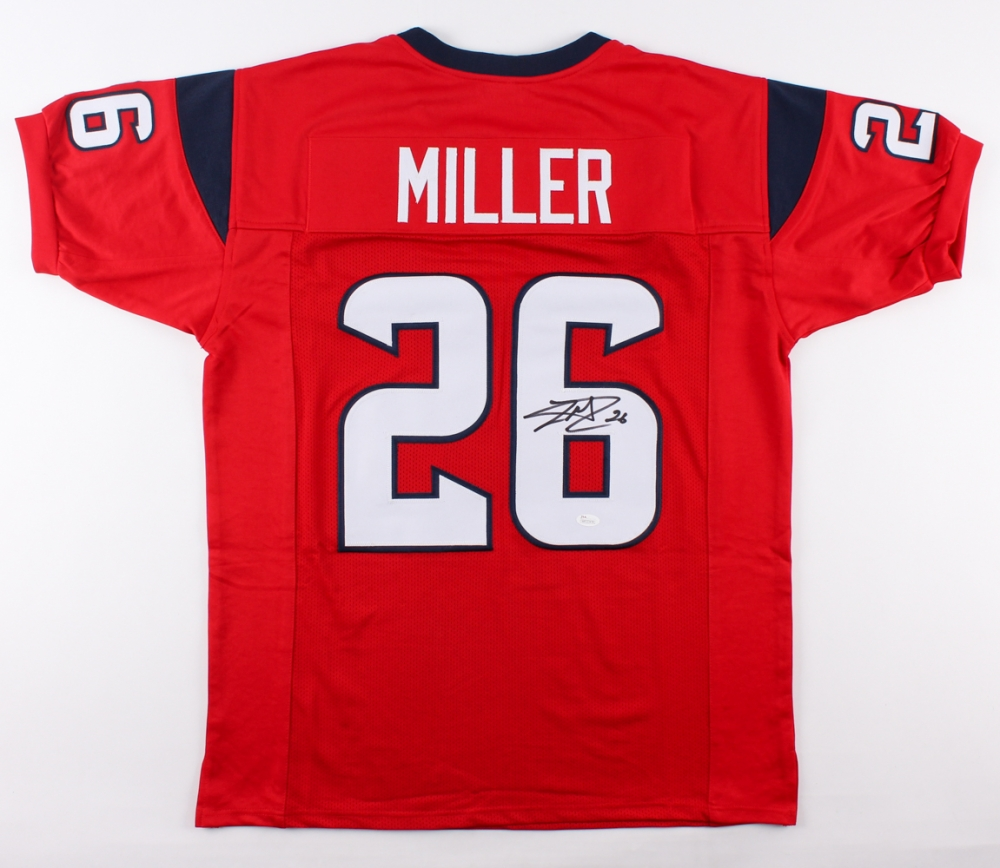 Lamar Miller Signed Houston Texans Jersey » Budd's Collectibles