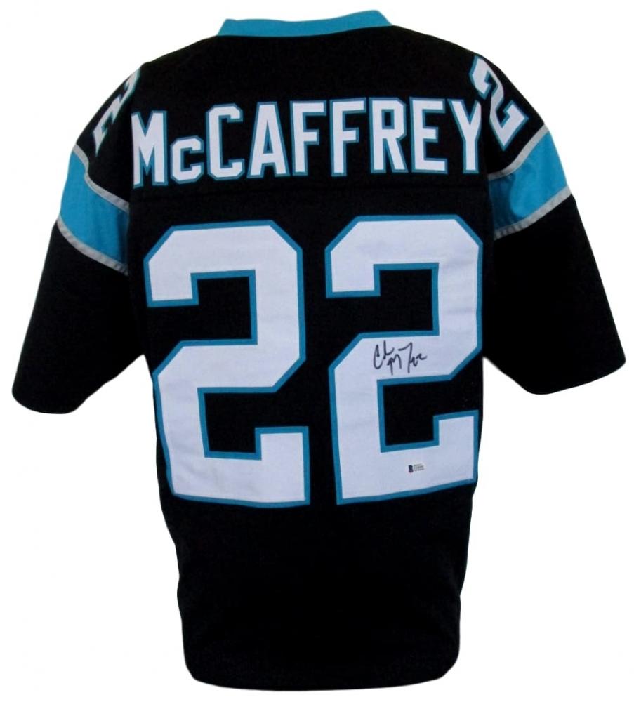 online store 51910 e2f0e Christian McCaffrey Signed Carolina Panthers Jersey » Budd's Collectibles