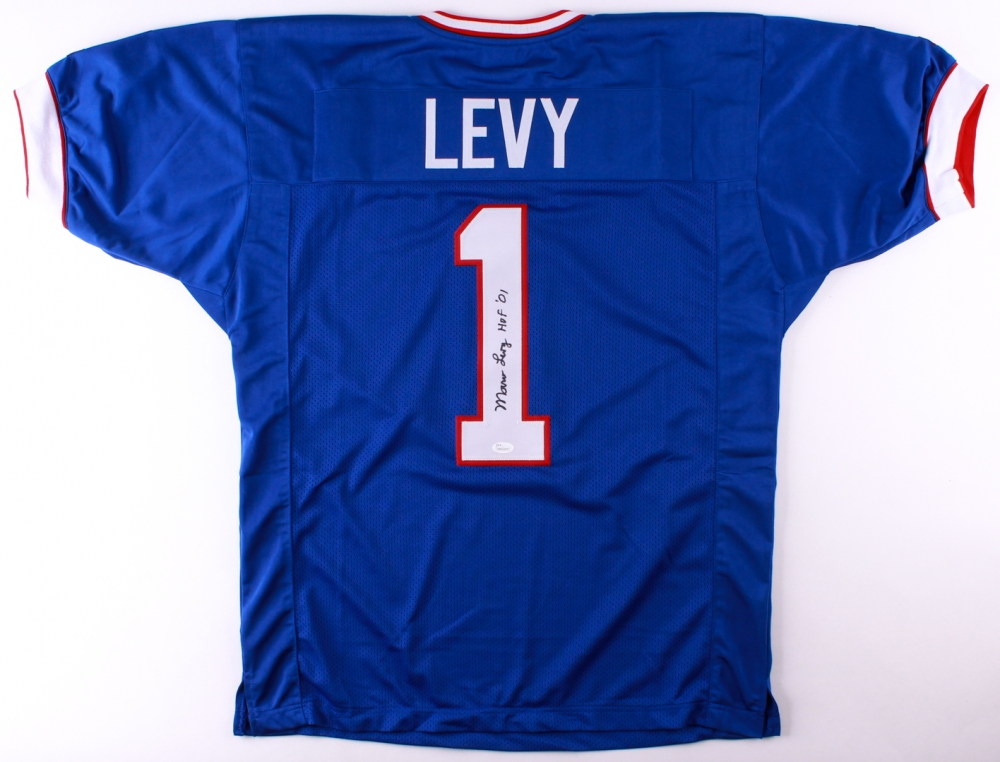 the latest 3e0d7 c1d3d Marv Levy Signed Buffalo Bills Jersey » Budd's Collectibles