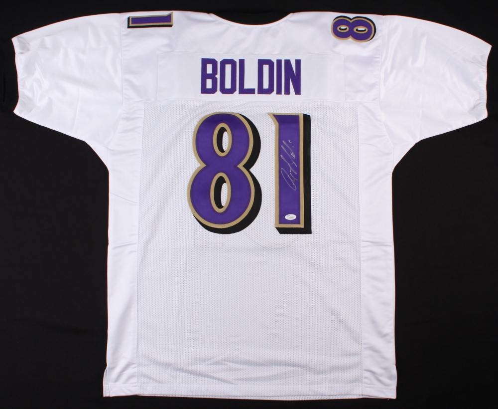 Anquan Boldin Signed Baltimore Ravens Jersey » Budd's Collectibles