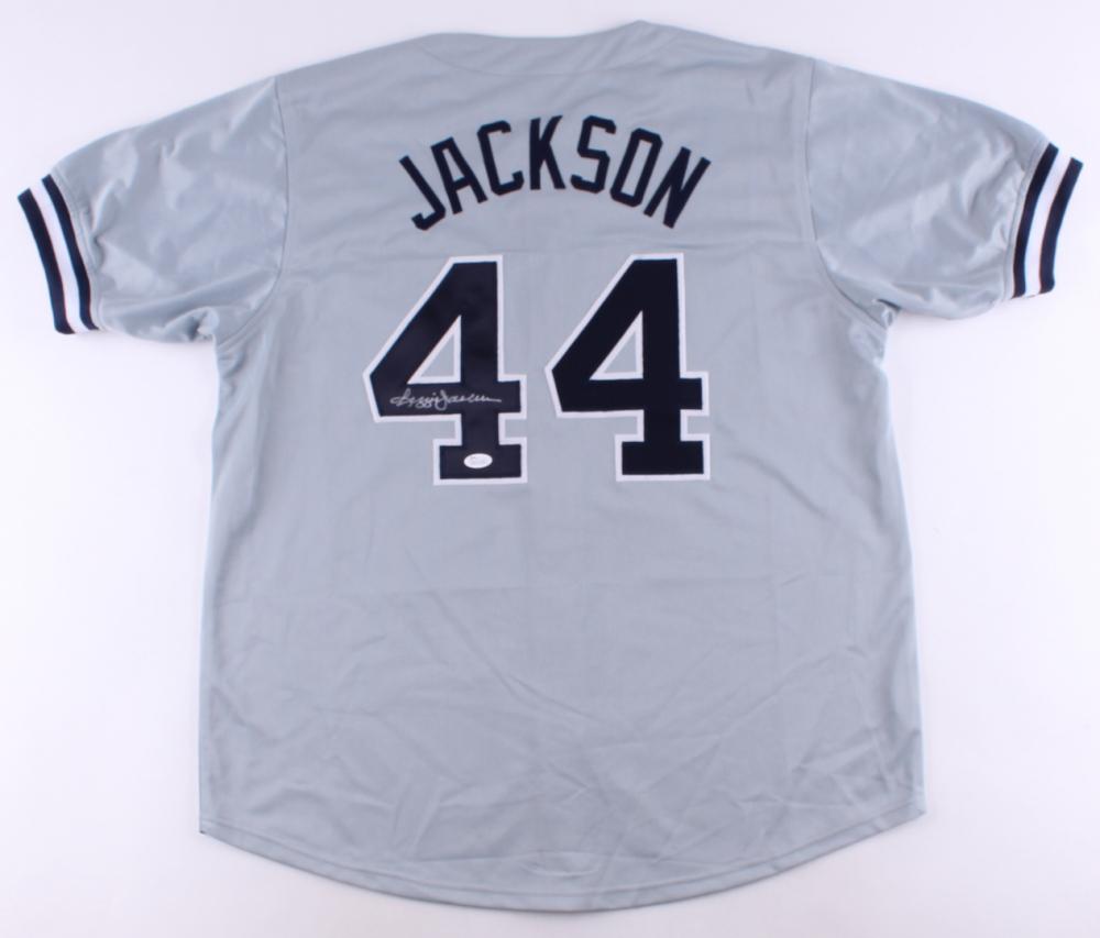 Reggie Jackson Signed New York Yankees Jersey » Budd s Collectibles ebb16b5c58c