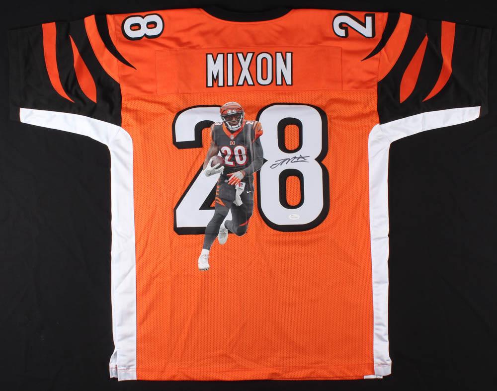 best cheap 35b0e 00dfa Joe Mixon Signed Cincinnati Bengals Jersey » Budd's Collectibles