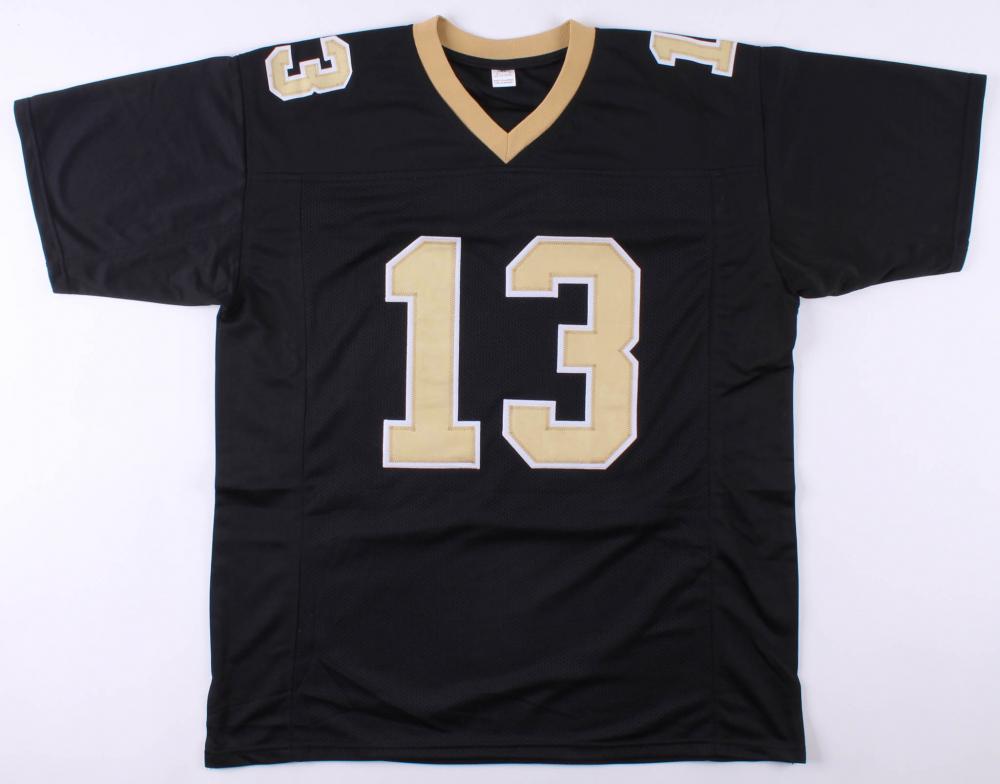 wholesale dealer 07a1d 6bfca Michael Thomas Signed New Orleans Saints Jersey