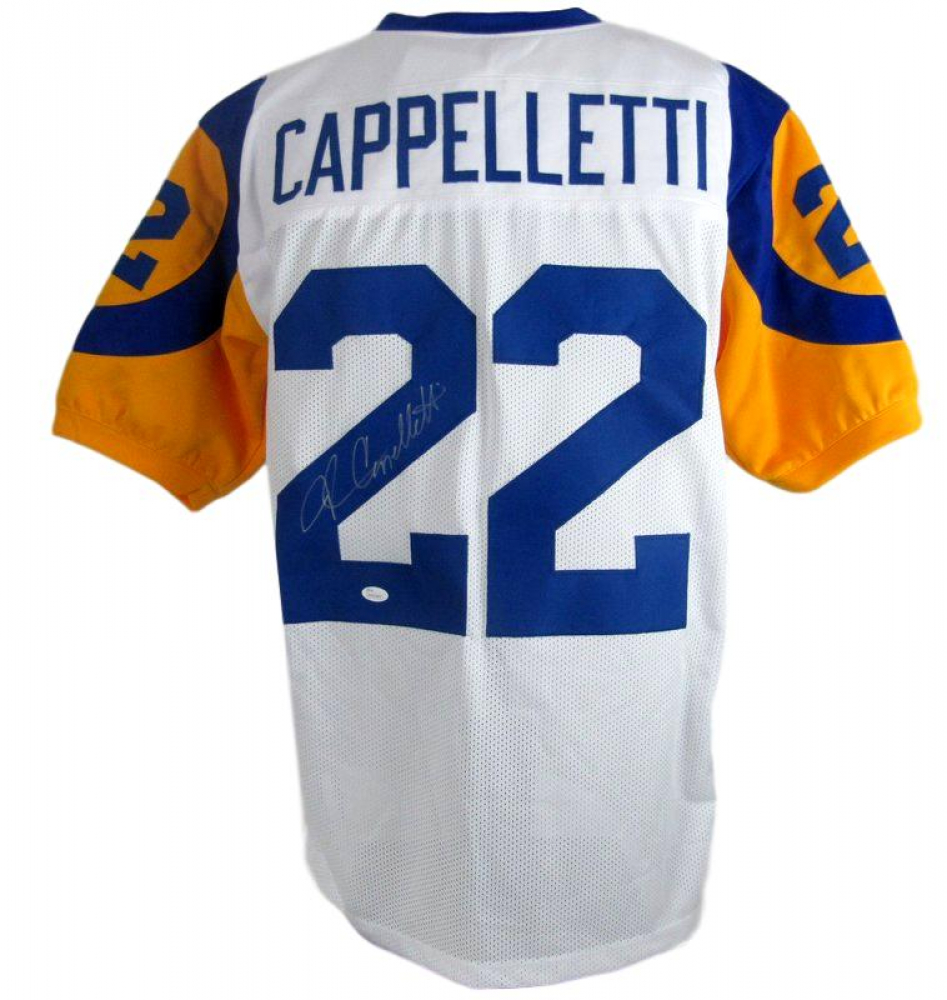 brand new a8ebb 58bf5 John Cappelletti Signed Los Angeles Rams Jersey » Budd's Collectibles