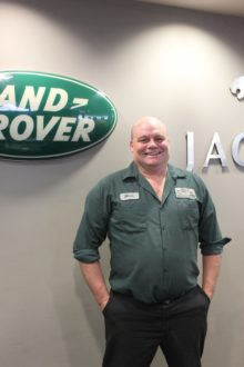 Mark Pratley - Jaguar &amp&#x3B; Land Rover Technician